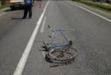 Юный велосипедист врезался в «Мутцубиси» в Дзержинске