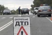 На Дзержинском участке магистрали Москва — Уфа столкнулись два автомобиля