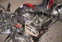 В Дзержинске разбился мотоциклист