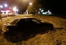 В Дзержинске пьяный водитель снес световую опору