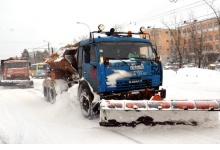 В Дзержинске работает 37 снегоуборочных машин