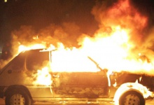 В Дзержинске снова сгорел автомобиль: поджигатели ни при чем