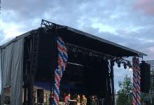 На площади Дзержинского начинается концерт группы Party