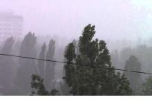 В Дзержинск вечером 12 июня придут грозы и сильный ветер