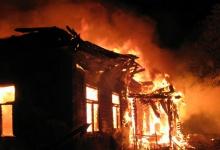В Володарском районе на пожаре погибли два человека