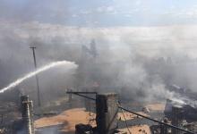 В Дзержинске произошел крупный промышленный пожар: опасности для горожан нет