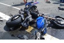 Подростки катались на мотоцикле и попали в ДТП в поселке под Дзержинском