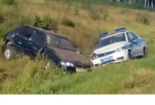 «Лада» и машина ГИБДД столкнулись под Дзержинском