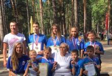 Дзержинцы выиграли чемпионат области по марафонским заплывам в ластах