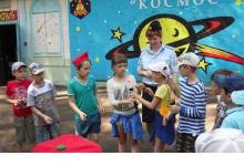Дзержинский гаишники провели для детей урок по правилам дородного движения