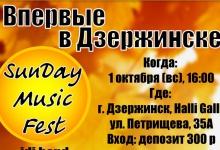 Музыкальный фестиваль пройдет в Дзержинске в международный день музыки