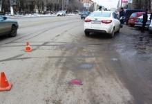 Водитель сбил пешехода на Портовом шоссе в Дзержинске