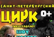 Цирк из Санкт-Петербурга приедет в Дзержинск