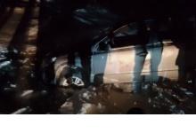 Автомобиль провалился под воду в Дзержинске