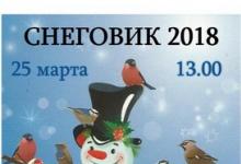 """Итоги конкурса """"Снеговик-2018"""" подведут в Дзержинске"""