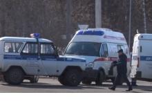 """""""Дэу Матиз"""" и полицейский УАЗ столкнулись в Дзержинске"""
