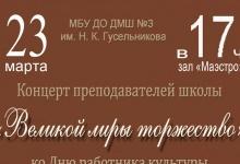 Педагоги устраивают концерт на День культуры  в Дзержинске