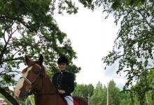 Алена Бекишева из Дзержинска отличилась на соревнованиях по паралимпийскому конн