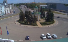 На ротонде ДКХ в Дзержинске установили видеокамеру