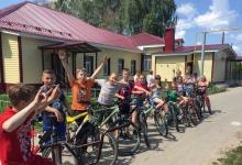 Детский велотурнир прошел в пригороде Дзержинска