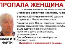 В окрестностях Дзержинска ищут женщину, которая ушла за ягодами и не вернулась
