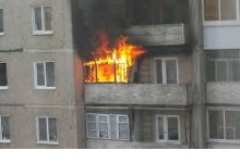 17 человек тушили пожар в Дзержинске