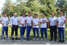 Портреты ведущих спортсменов Дзержинска планируется разместить на улицах города