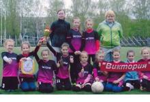 Юные футболистки из Дзержинска заняли третье место в престижном турнире