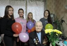 13 октября исполнилось 96 лет участнику Великой Отечественной войны Смирнову Ник
