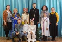 Гимназисты показали сказку в Православном садике Дзержинска