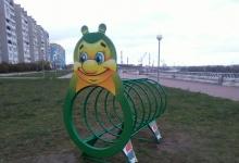 Еще 2 детские площадки на Окской набережной в Дзержинске предложил поставить Вик