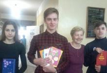 """Волонтёры социального центра """"Покров"""", старшеклассники из  №14 в Дзержинске посе"""