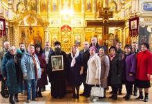 Храм в честь Благовещения Пресвятой Богородицы посетили дзержинские краеведы. Вы