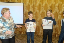 Центральная детская библиотека им. А.П.Гайдара в Дзержинске провела кластер под