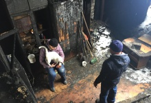 Семья Пегеевых  из поселка Дачный Дзержинска  лишилась крова. Два неработающих п