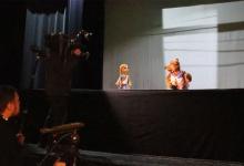 Съёмочная группа столичного телеканала ОТР  посетила Дзержинский театр кукол для