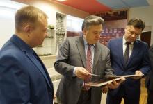 Председатель городской думы  Дзержинска Сергей Попов и председатель комитета Дми