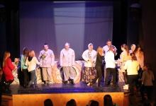 В Кукольном театре на спектакле «Левша» побывали студенты  и преподаватели Дзерж