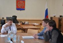 Глава Дзержинска  Иван Носков встретился с инициативной группой «Дзержинцы за о