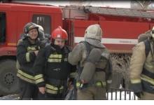 Вечером 16 апреля в Дзержинске, в поселке  Пушкино, произошёл крупный пожар. Го