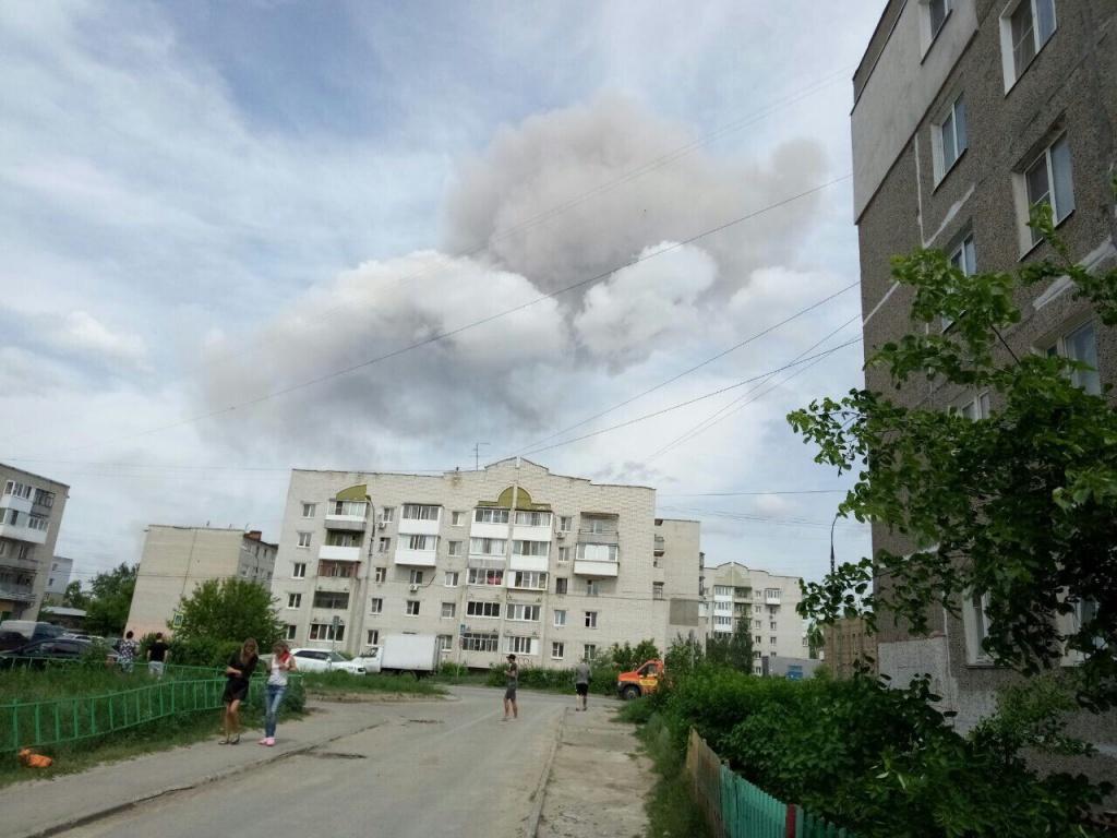 Угрозы загрязнения воздуха после взрывов вДзержинске нет— Оперативный штаб