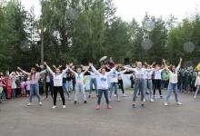 В лагере рядом с Дзержинском прошел большой спортивный праздник
