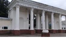 Арка городского парка культуры и отдыха избавилась от рекламы в Дзержинске