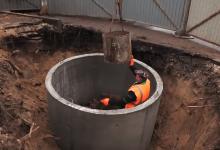 В Дзержинске произошел обвал коллектора