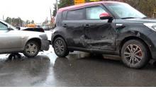 В Дзержинске произошло ДТП на на перекрестке Гайдара