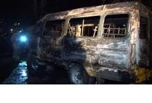 В Дзержинске неизвестные сожгли газель