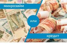 Что выгоднее: займ в МФО или кредит