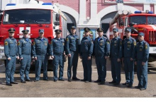 Сотрудников МЧС наградили за ликвидацию последствий взрывов на Кристалле
