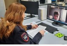 Сотрудники Дзержинской Госавтоинспекции в рамках дистанционного обучения напомни