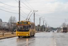 Отмена движения троллейбусов в Дзержинске